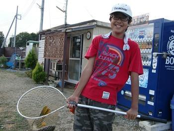 花園管釣り